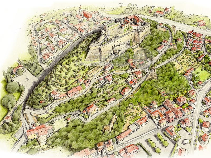 Collina del castello Malaspina